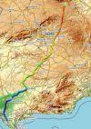 Soriana oriental mapa
